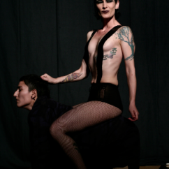 GSL: Jet Moon, Majda Puaca, Queer Beograd Festival 2005 - Photo Biljana Rakocevic