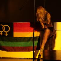 Antifa Detail: Jet Moon- Queer Beograd Festival 2008 - Photo Biljana Rakocevic