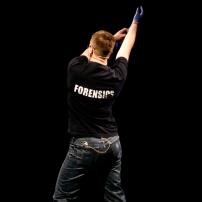 Forensic: D.Sarzinski, Linz Festival 2009, photographer unknown